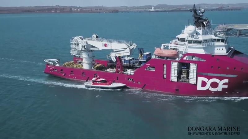 Shipco 360 Dongara Marine present - Berekeley Class Pilot Launch