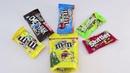 Выучить цвета на английском языке с детьми.разноцветные конфеты . Открываем киндер сюрприз