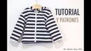 Costura Chaqueta para Niños patrones gratis hasta talla 8 años