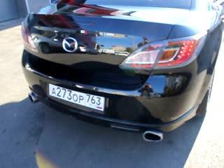 Mazda 6 - востановительная полировка + воск