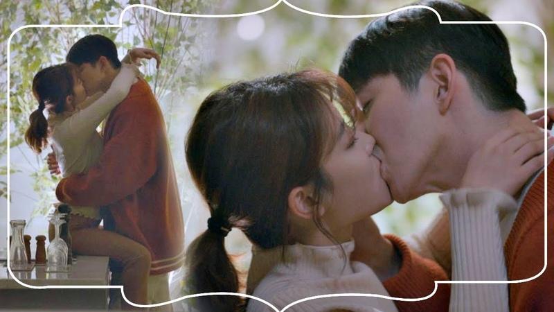달달 엔딩 김유정 Kim You-jung ♥윤균상 Yun Kyun Sang , 연애세포 자극하는 ′테이블 키스 824