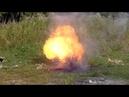 Раскалённое масло и вода)) взорвали газовый баллон.