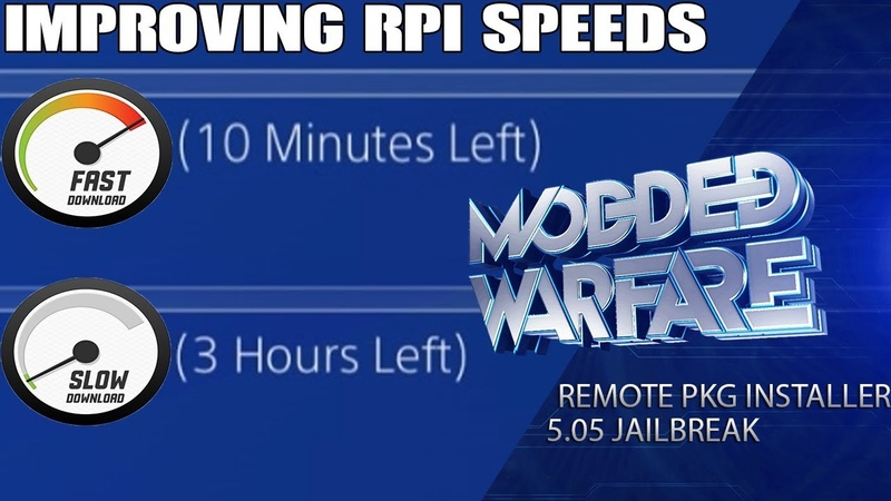 Improving the Speed of the Remote Package Installer