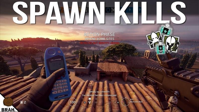 How To Spawn Kill On Villa Rainbow Six Siege Operation Para Bellum