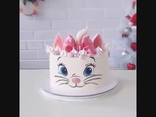 Как сделать роспись на торте