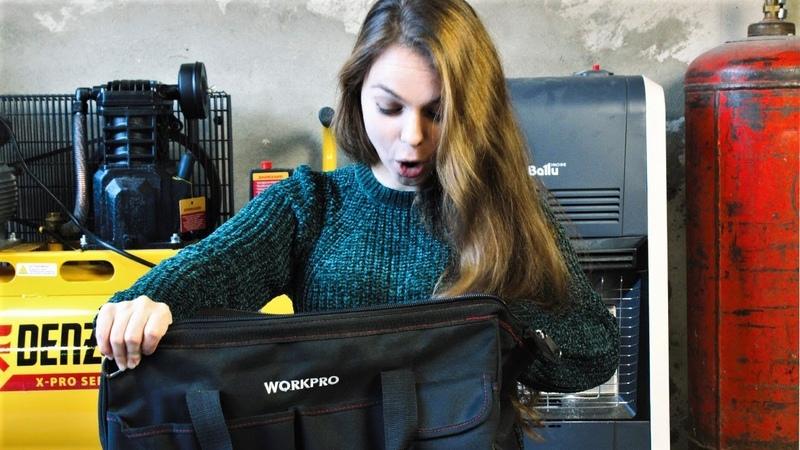Что девушка-технарь прячет в своей сумке?