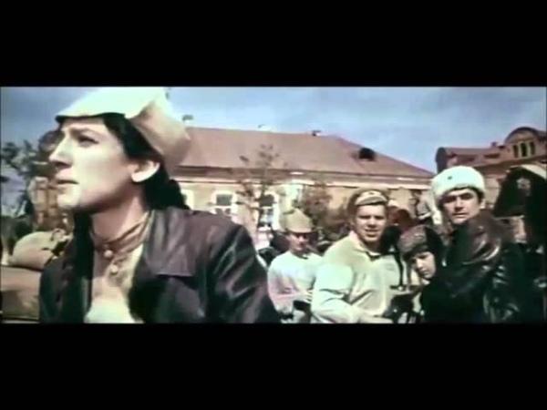 Съемки фильма Звезды не гаснут в Астрахани 1970 г