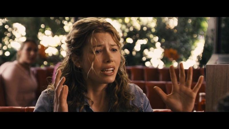 Попытки Криса познакомится с Лиз в кафе   Пророк (2007)