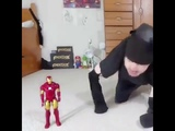 Fuck you iron man!