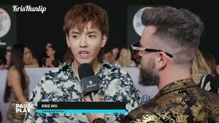 181009 Kris Wu -Interview at AMAs 2018 Red Carpet