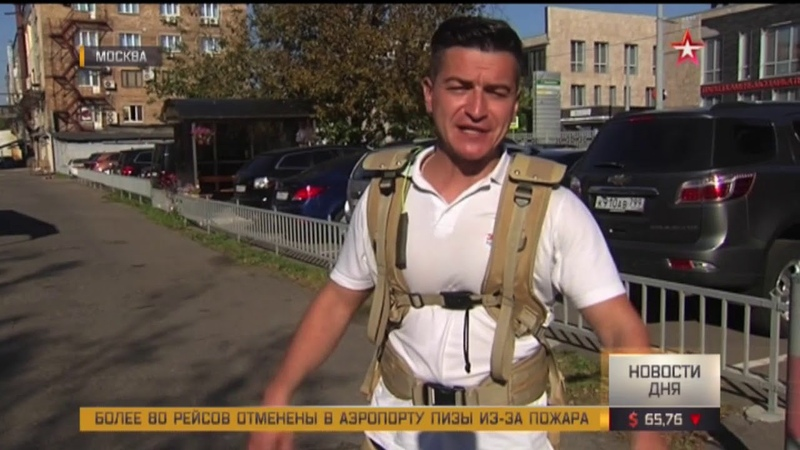 Корреспондент «Звезды» протестировал российский экзоскелет