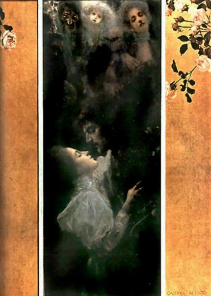 « одного шедевра». «Любовь», Густав Климт
