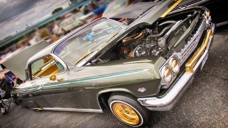 1962 Chevrolet IMPALA SS Lowrider Custom Car SCN2017