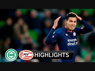 GRONINGEN VS PSV Resumen Y Goles Highlights All Goals _ Liga Holanda 2018