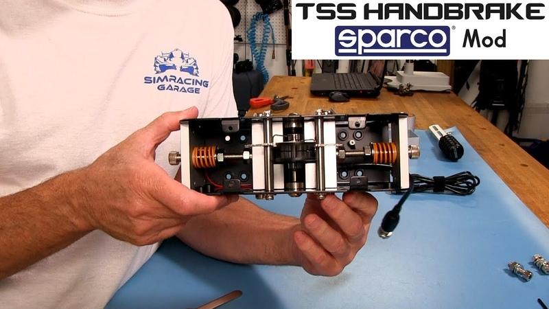 Thrusmaster TSS Handbrake Sparco Mod Review