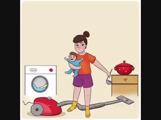 Как отдыхают домохозяйки