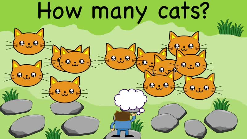 Counting Numbers Song - How Many Count From 1 to 12, Kids Sing and Learn English Numbers