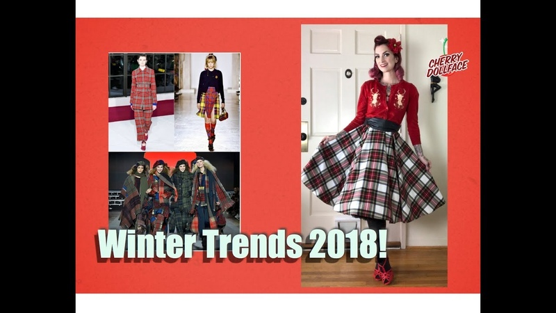 Winter Trends 2018: My Vintage Spin! by CHERRY DOLLFACE