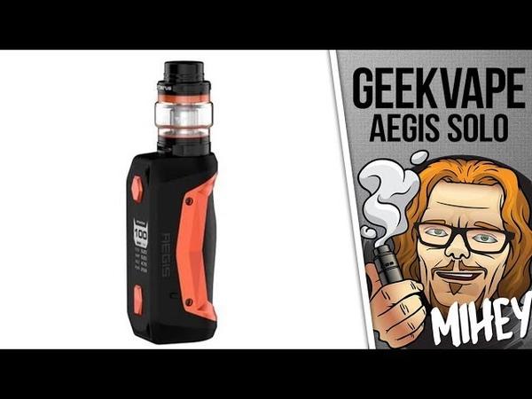 Geekvape Aegis Solo Kit Маленькая неутопашка