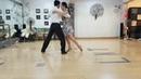 누에보 탱고 응용시연 수요 저녁반 18-8-1차 Nuevo tango application2. volcadadiagonalcalecita
