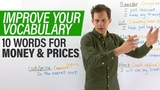REAL ENGLISH VOCABULARY 10 words to talk about MONEY &amp PRICES