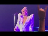 Christina Aguilera Crying by first tour after 10 years - Liberation Tour