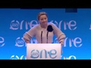 Amber Heard al One Young World 2018 summit a The Hague