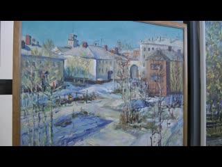 РЕКИ ТЕКУТ НА СЕВЕР-выставка художников-земляков-центр 2я ШКОЛА