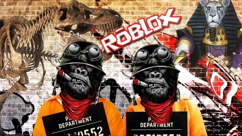 Роблокс побег из тюрьмы/ ПОБЕГ из ТЮРЬМЫ в РОБЛОКС / ROBLOX Jailbreak