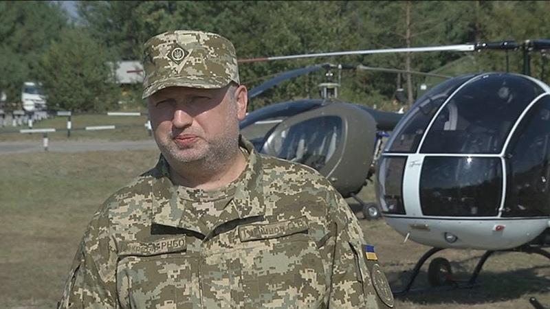 О Турчинов Відбулися випробування нової високоефективної української зброї та військової техніки