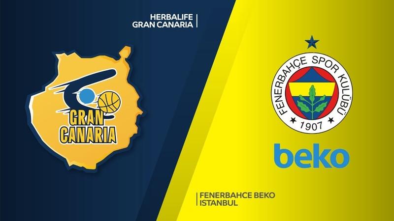 Herbalife Gran Canaria - Fenerbahce Beko Istanbul Highlights | EuroLeague RS Round 19