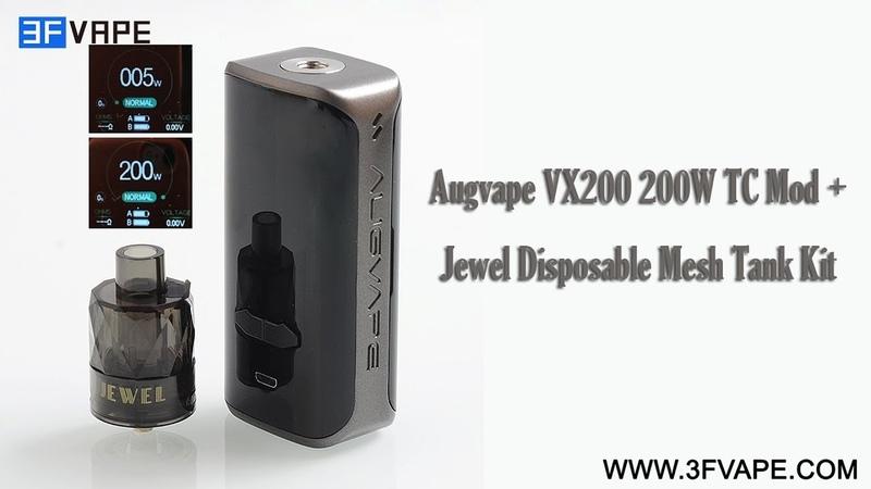 Augvape VX200 200W TC Kit
