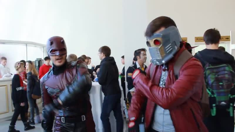 Daredevil StarLord - Hooked on a feeling dance