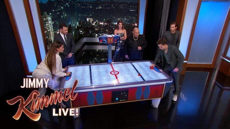 Spider-Man Cast on Tom Holland Zendaya's Air Hockey Rivalry