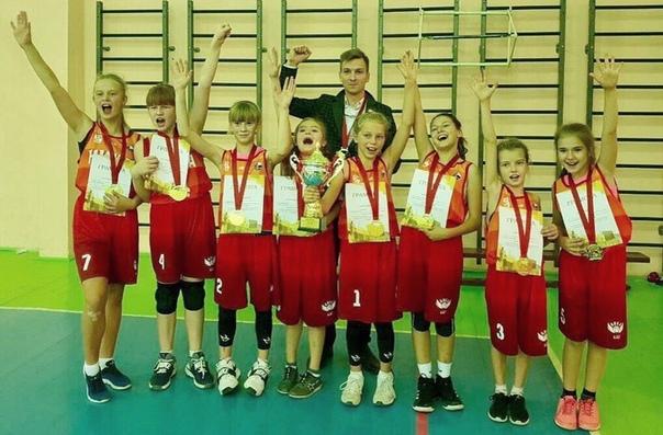 Победа баскетболисток на открытом первенстве Красноярска