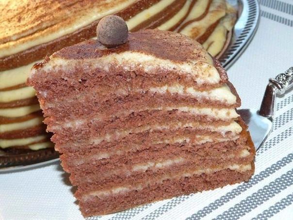 Безумно вкусненький тортик