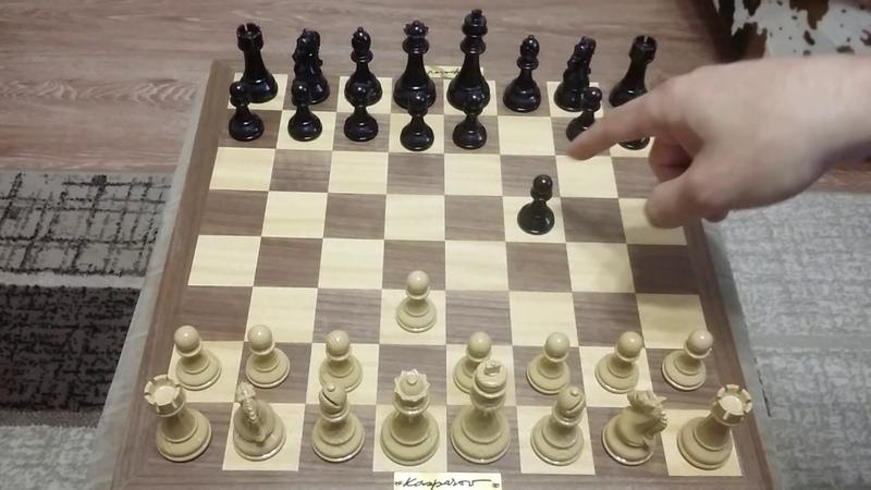 Шахматы. Пешка выигрывает партию. Изучите эту комбинацию.
