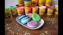 Плей До Как слепить пирожные Play Doh Cakes