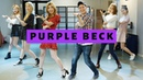 Can a Real K POP Group Teach Me How To Dance? feat PURPLE BECK 퍼플백