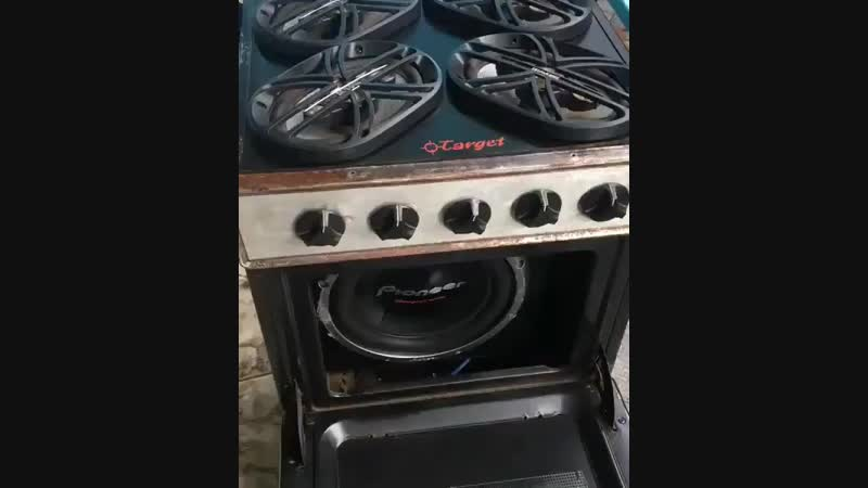 Basshead's oven