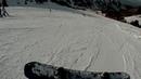 3 й раз на сноуборде Падающим листом со средней станции Чимбулак