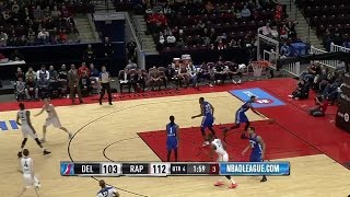 Yanick Moreira posts 15 points 10 rebounds vs. the 87ers, 12272016
