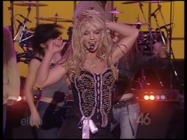 Britney Spears - Toxic (Ellen Show) [TV Rip]