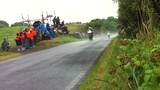 How to avoid wet road on a motorcycle.