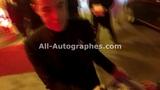 Rami Malek signing autographs in Paris