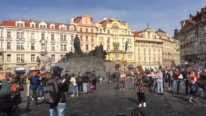 Prague , autumn time