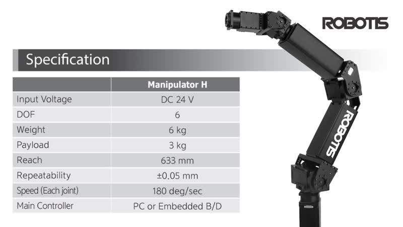 ROBOTIS Manipulator H