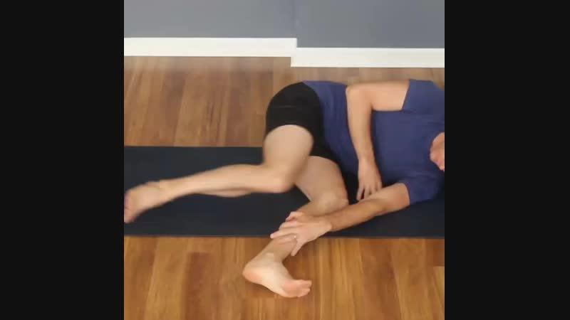Растяжка подвздошно-поясничной мышцы 2