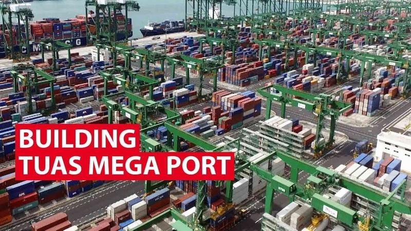 Building Singapores Tuas Mega Port   Looking Ahead   CNA Insider
