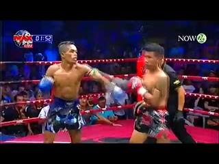 Кхмерский и муай тай! Khmer Warrior Boxing Chan Na Vs Sanlium Tormaobanglamung